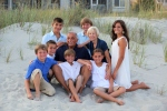 Family beach portraits in Myrtle Beach