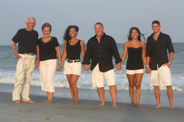 Everlasting memories family beach portraits