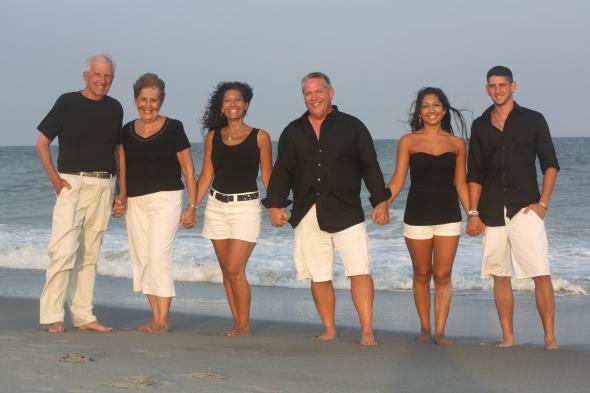 Everlasting memories family beach portraits