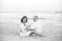 Black & White pictures on the beach